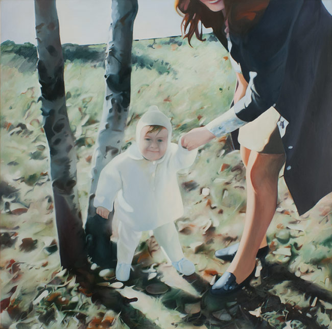 Mother and Child, 1984–85, by Richard Hamilton
