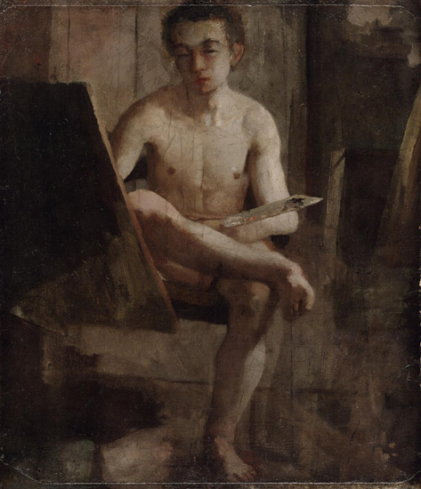A Young Art Student (Portrait of Thomas Eakins)