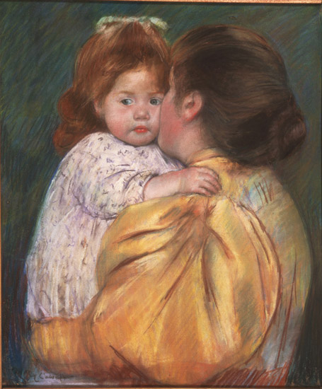 Mother and Child (Maternal Kiss)