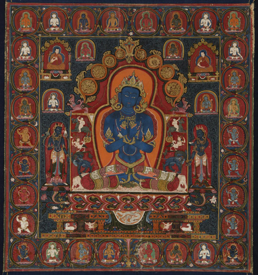 Buddha Vajradhara, Originating Deity of the Sakya Lineage