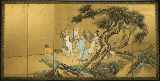 Eight Daoist Immortals Crossing the Sea